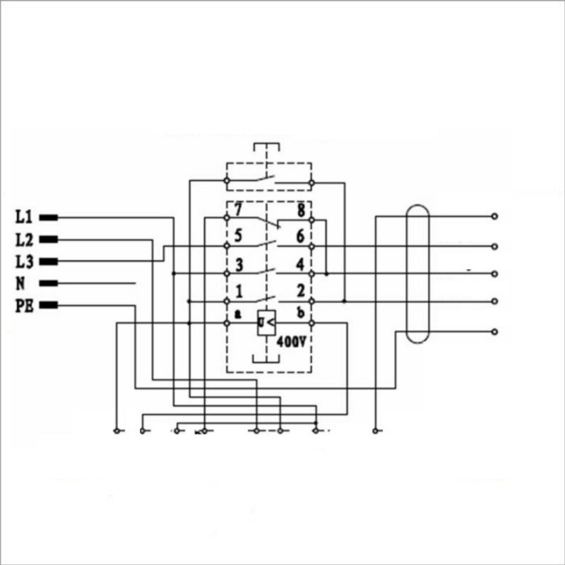 KOA12 ~3 / 400 Volt (3 Phasen) mit Kabel + Notaus-Knopf bis 4 kW, 90 ...