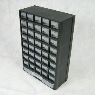 41 Fächer Kunststoff Sortimentskasten