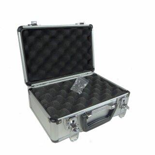 Aluminium Pistolenkoffer / Waffenkoffer 2,7 Liter 270X185X115mm