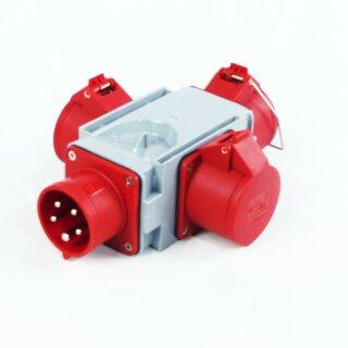 Stromverteiler CEE 16A 400V - 3 x CEE 16 A