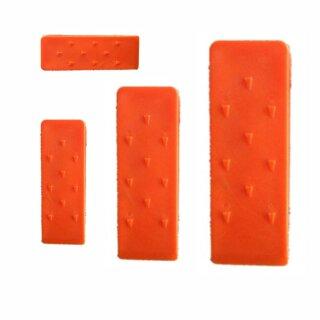 4-tlg. Set Kunststoffkeil  13,5 / 20 / 24,5 / 30 cm (je 1 x 23470+23471+23472+23473)
