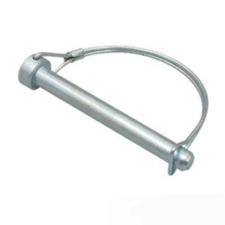 Rohrklappsplint / Sicherungssplint 6x50 mm (rund flexibel)