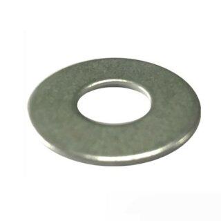 Unterlegscheiben ~3x Gewindedurchmesser, A2 10,5