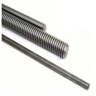 M 10  Gewindestange  Länge 1,0 m , V2A , DIN 976-1