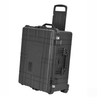(ohne Schaumstoffeinlagen) Trollykoffer Mobil 66 Liter XXXL Innenmaße 563x435x270 mm (auf Karton steht 72 Liter)