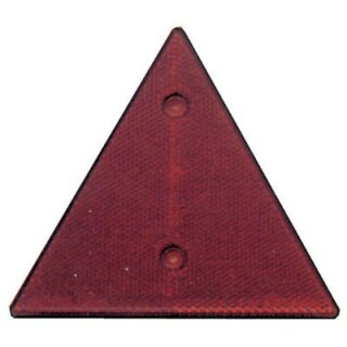 "Dreieck-Rückstrahler ""rot"" ohne Pendel"