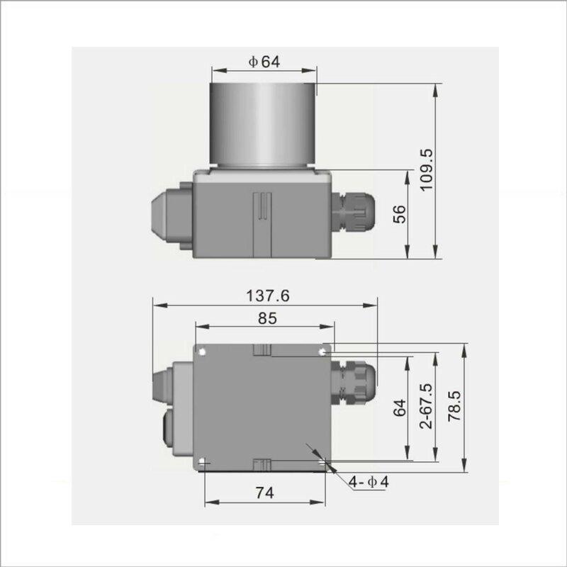 koa7 3 ger teschalter mit kabel 380 400 v 3 phasen bis 4 kw 38 00. Black Bedroom Furniture Sets. Home Design Ideas