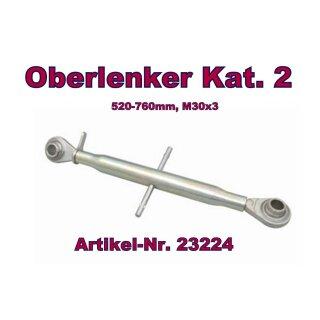 Oberlenker Kat. 2 , Länge 520-760 mm , M30x3, (Hülsenlänge 400 mm)