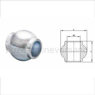 Oberlenker-Fangkugel 50/25 mm , Kat 2 auf 2