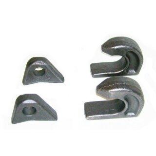 Satz Koppelhaken + Verriegelung (besteht aus je 2 x Koppelhaken + 2 x Verriegelung)